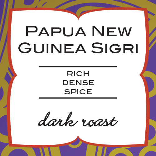 Paramour Coffee - Papua New Guinea Sigri